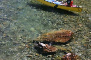 Canot sur la rivière Bonaventure, Cime Aventures.