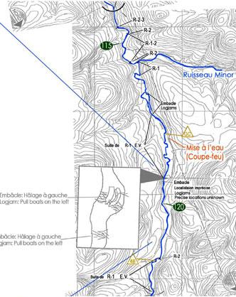 Plan rivière bonaventure