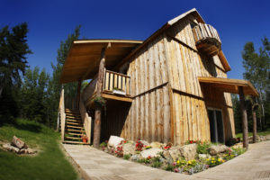 Grande Ourse Chalet, outside view, Cime Aventures